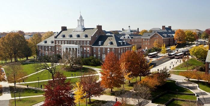 UMD Campus in Fall
