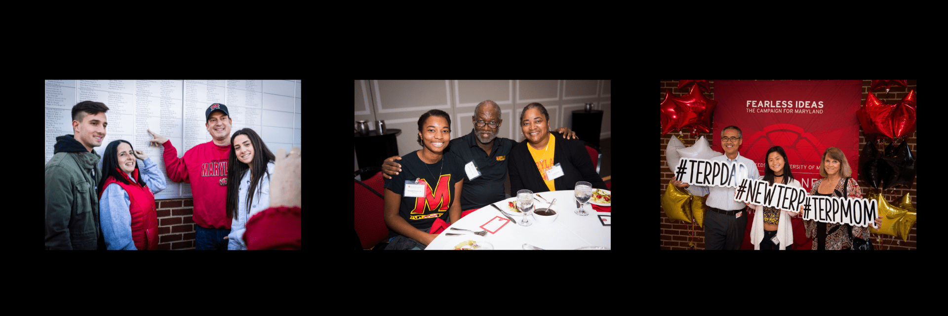 Terp Families at events